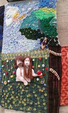 Yarn bombing in Budapest