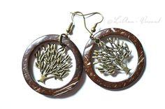 Ohrringe - ✼ Waldspaziergang ✼ Ohrringe - ein Designerstück von LiAnn-Versand bei DaWanda