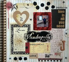 Twice a month art journal prompts
