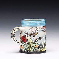 Schaller Gallery : Exhibition : Functional Spectrum - An Array of Useable Pots : Michael Corney : Mug