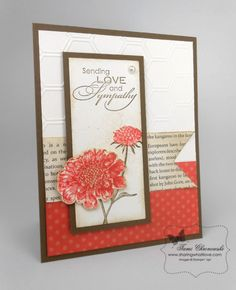 Field Flower Sympathy by TamiC - Cards and Paper Crafts at Splitcoaststampers