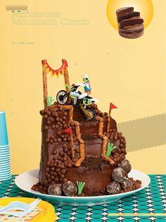 David's birthday...dirt bike cake
