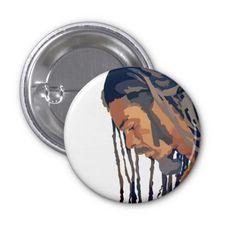 Rastafarian Button - March 3
