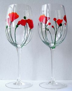 hanmade painted glasses | followpics.co
