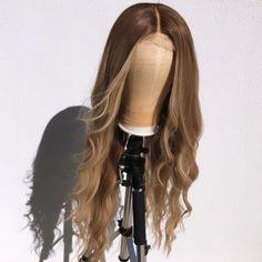 Baddie Hairstyles, Weave Hairstyles, Pretty Hairstyles, Long Hair Wigs, Hair Color Streaks, Barbie Hair, Natural Hair Styles, Long Hair Styles, Hair Laid