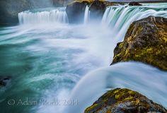 Godafoss waterfall Iceland