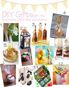 Ashley Thunder Events: DIY GIFT IDEAS for the 'HOSTESS WITH THE MOSTESS'