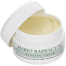 Healing Cream from Mario Badescu Skin Care is amazing for dry patches, eczema, healing scratches or blemishes.  Not just for the face, I use it everywhere, via mariobadescu.com #MarioBadescuSkinCare