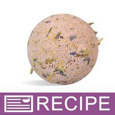 Blackberry Tea Bath Fizzies Recipe