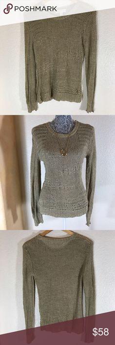 Michael Kors Sweater! Sz S Michael Kors Sweater! Sz S •EUC •Pretty olive shade •Heavier weight material Michael Kors Sweaters Crew & Scoop Necks