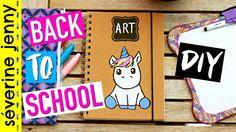 DIY Back To School 2016 : Fournitures Scolaires LICORNE (français)