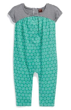 Free shipping and returns on Tea Collection 'Rajasthan' Cotton Romper (Baby Girls) at Nordstrom.com. Named for the home of India's oldest mountain range, this comfy cotton-jersey romper mixes fun prints to charming effect.