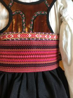 Folk Costume, Costumes, Folklore, Scandinavian, Ethnic, Weaving, Band, How To Make, Vintage