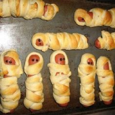 great idea for a baby shower appetizer More