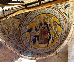 Iglesia de la Asunción. Barrio Santa María (Palencia) | par paula_gm Religion, Painting, Mural Painting, Murals, Paintings, 15th Century, Medieval Art, Ancient Architecture, Santa Maria
