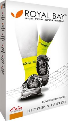 ROYAL BAY® Neon Sportsocken HIGH-CUT