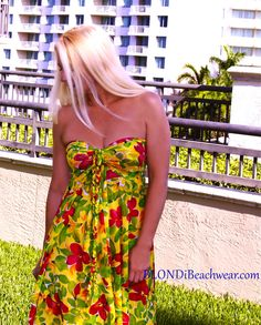 Montego Bay Strapless dress by www.BlondiBeachwear.com   Convertible skirt coverup can also be worn as a dress Blondi Style Diary: Three Things Every Swimwear Coverup Must Have What do you want in a coverup? http://blondibeach.wordpress.com/2013/10/18/blondi-style-diary-three-things-every-swimwear-coverup-must-have/