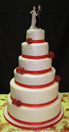 Wedding cake by Crazy Cake - Cakedesigner57