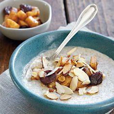 Sweet Almond Cream of Buckwheat with Skillet Pears | MyRecipes.com #MyPlate #grain #fruit