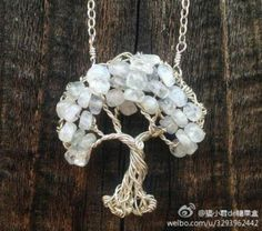 No circle Tree of Life Pendant