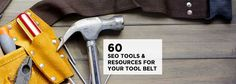 50+ SEO Tools and Resources For Marketers