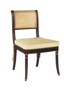 Stewart Side Chair from the James River collection by Hickory Chair Furniture Co.