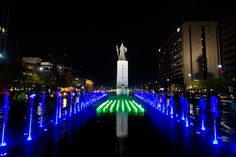 Seoul at Night by stuckinseoul, via Flickr