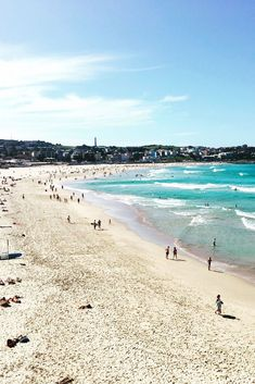 The sweeping white-sand crescent of Bondi is one of Australia's most iconic beaches. Reliable waves draw surfers while, Australia Map, Bondi Beach Australia, Australia Wallpaper, Bondi Beach Sydney, Sydney Beaches, Cairns Australia, Melbourne Australia, Australia Tattoo, Western Australia
