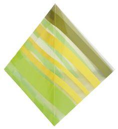 Berlingot rayé - vert anis