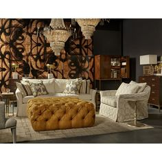 Discover the design world's best Ottomans at Perigold. 3 Drawer Nightstand, Front Rooms, Cocktail Ottoman, Cleaning Materials, New Beds, Best Interior Design, Upholstered Furniture, Upholstery, Dining Chairs