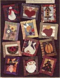Art to Heart Pin Ups, Changeable & Multiple Seasons Crafts