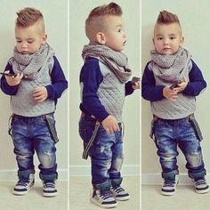 Stylish Baby Names 2014 for Boys.fashion idea for boys Little Boy Fashion, Baby Boy Fashion, Fashion Kids, Toddler Fashion, Fashion 2016, Winter Fashion, Toddler Haircuts, Little Boy Haircuts, Kids Fashion Boy