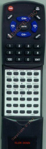 HITACHI Replacement Remote Control for 50UX57B, 53DX89BA, 53SBX59A, 53SBX59B by Redi-Remote. $48.95. This is a custom built replacement remote made by Redi Remote for the HITACHI remote control number HL00715. *This is NOT an original  remote control. It is a custom replacement remote made by Redi-Remote*  This remote control is specifically designed to be compatible with the following models of HITACHI units:   50UX57B, 53DX89BA, 53SBX59A, 53SBX59B, 53SDX89B,...