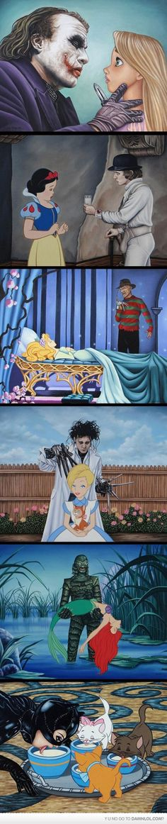 Disney Meets Hollywood - Damn! LOL