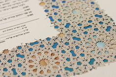 The CASABLANCA MULTILAYER papercut ketubah / wedding by RuthMergi, $670.00