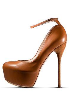 Love...fall 2012, John Galliano, shoes, high heels, platforms, camel