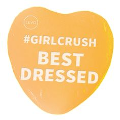 Happy Valentine's Day! Know someone with a killer wardrobe? Send this Valentine to your best dressed #GirlCrush! | Share the #levolove