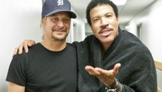 With Lionel Ritchie