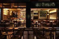 De GUSTO cafe restaurant  by MIKA design Novi Sad Serbia