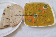 Aloo Mattar - gravy curry
