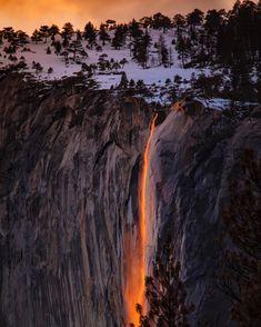 Fire falls photo by Stephen Leonardi (@stephenleo1982) on Unsplash