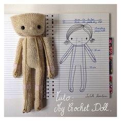 Tuto : My Crochet Doll. | by ISABELLE KESSEDJIAN