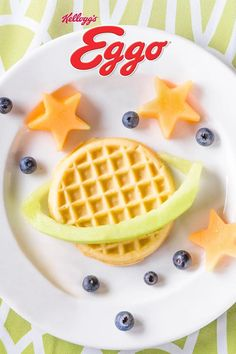 Find a burst of family fun and help start your day off right with the creative possibilities of crispy Eggo® Waffles.