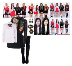 Black Pink - Melon Music Awards by annijor on Polyvore featuring polyvore fashion style Gucci Alice Archer Dolce&Gabbana clothing