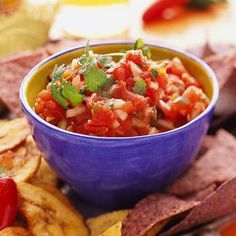 Canning homemade salsa