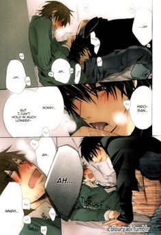 Amazing colouring of Junjou Romantica by Nakamura Shungiku made by the really talented artist behind icolouryaoi.tumblr