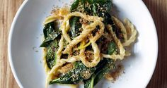 Strozzapreti with Spinach and Preserved Lemon | 23 Most YOLO Pastas Of 2013