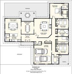 Hauspläne bungalow  Bildergebnis für grundrisse bungalow 140 qm | Hauspläne ...