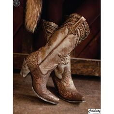 Glitter Gulch Boots | FALL 2012 Collection (as shown)