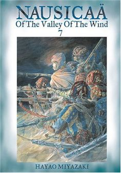 Nausicaa of the Valley of the Wind, Vol. 7 by Hayao Miyazaki http://smile.amazon.com/dp/1591163552/ref=cm_sw_r_pi_dp_0i3xvb1TK96BX